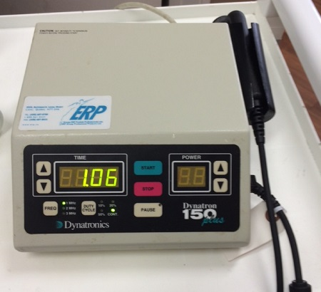 Ultrasound therapy at Supreme Physiotherapy in Scarborough, Ontario